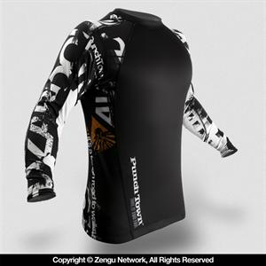 PunchTown Apocalypse Long Sleeve Rashguard